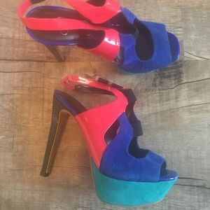 Unique Jessica Simpson Heels - New with Tags